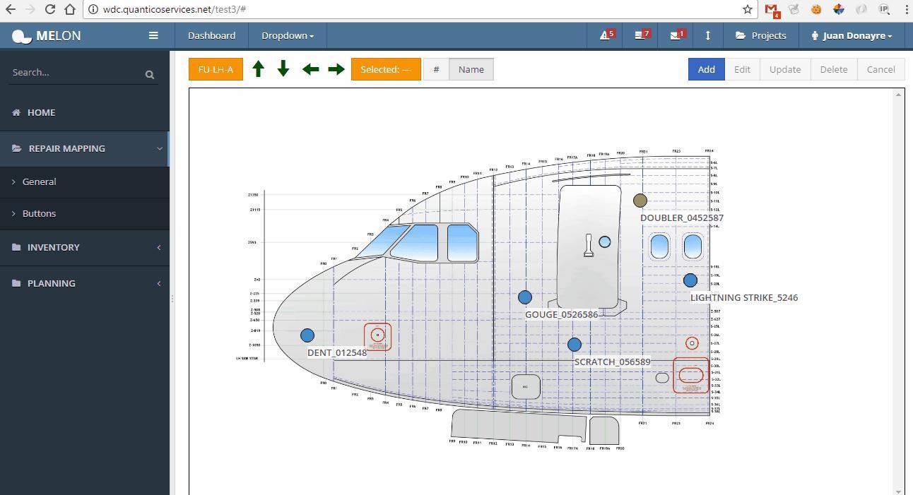 Aircraft Maintenance Management Software – Juan Pablo
